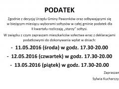 podatek 2016